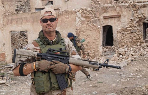 Kurdish sweedish fighter Tony Ekman, Peshmerga PKK Kurdistan KDP