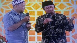 Ustadz Yusuf Mansur menangis saat siaran langsung di TV One