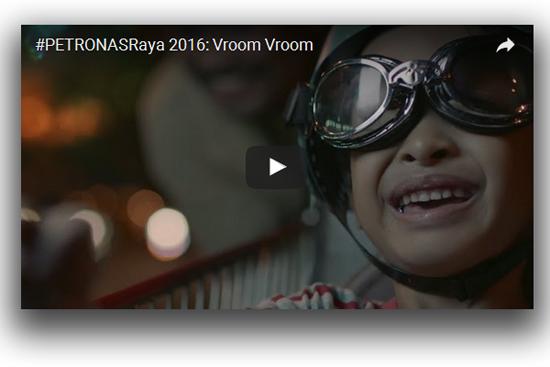 #PetronasRaya 2016 - Vroom Vroom