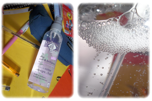 Spray Soin et Brillance - Le Petit Marseillais - My Little Box Juin 2012