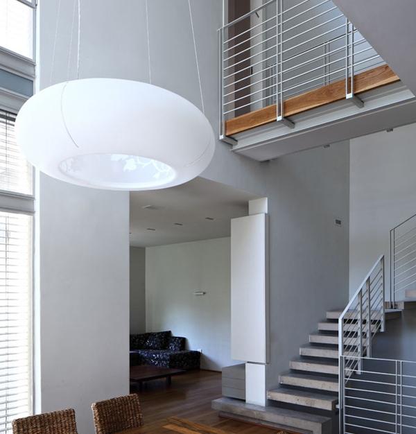 Desain Interior Tangga Unik Rumah Modern Minimalis