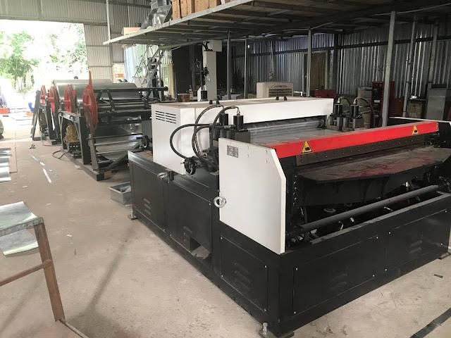 Máy sản xuất ống gió tự động autoline III