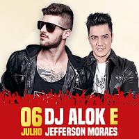 Festa Peão Itapecerica 2017 Cantores 06 Julho DJ Alok Jefferson Moraes