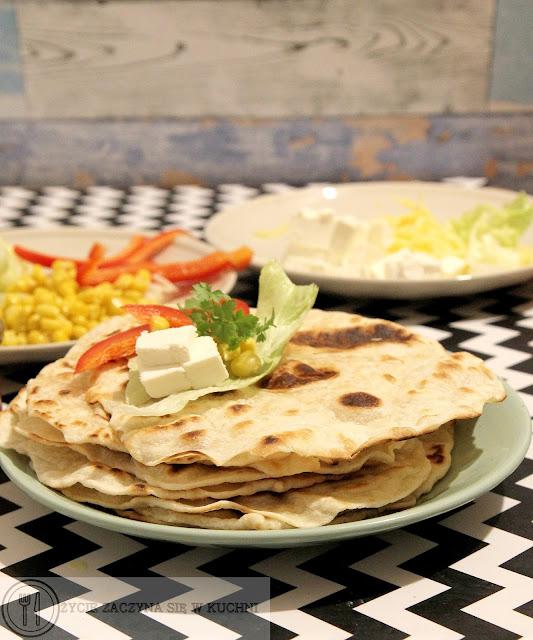 Domowe naleśniki tortilla