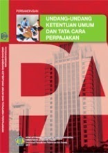 Buku Persandingan Satu Naskah Undang-Undang KUP 2011