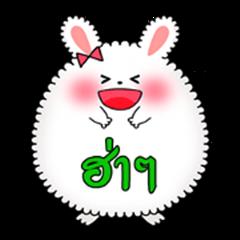 Rabbit Angola balloons - Thailand ver