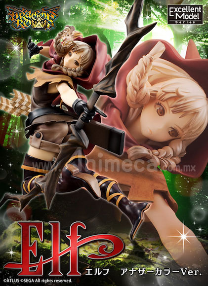 Figura Elf Another Color Ver. Excellent Model Edición Limitada Dragon's Crown