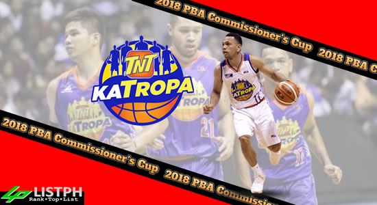 List of TNT Katropa Roster 2018 PBA Commissioner's Cup