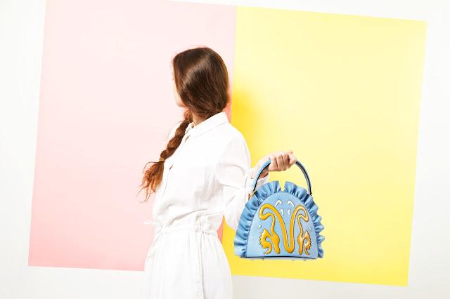 Marie de la Roche handbag