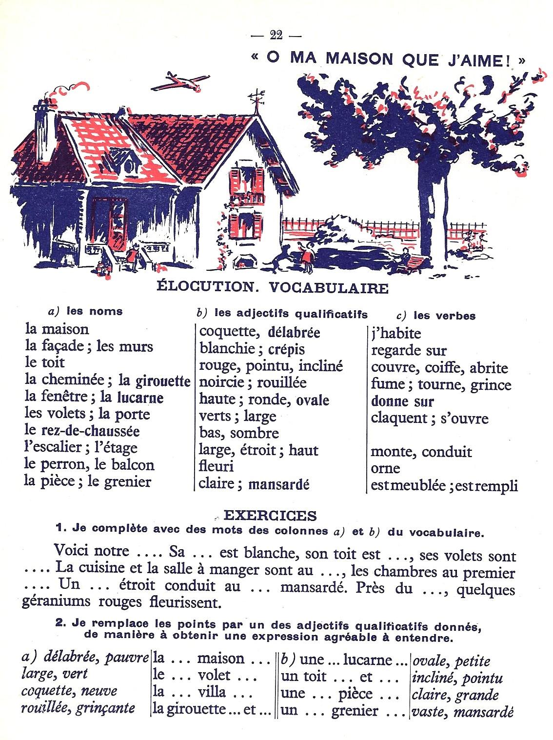 manuels anciens picard mon premier vocabulaire ce1 ce2 du vocabulaire la phrase simple 1951. Black Bedroom Furniture Sets. Home Design Ideas