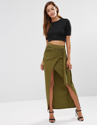 faldas largas de moda como combinarlas