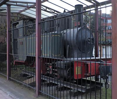 """locomotora de vapor FM-102 """"La Quirós"""""""