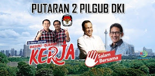 Anies-Sandi Menang di TPS Megawati, Kalah Telak di TPS Ahok