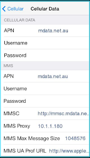 New Aldi mobile apn settings iPhone