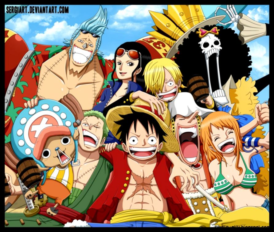Crew Mugiwara Luffy One Piece Wallpaper Wallpapers Quality
