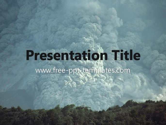 natural disaster ppt template, Modern powerpoint