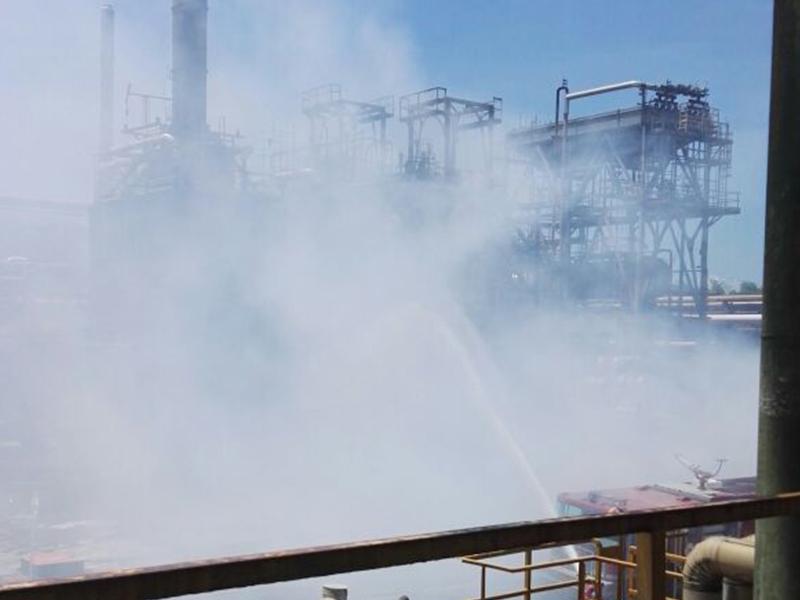 Riesgo en seguridad de trabajadores por incendios en la Refinería de Barrancabermeja