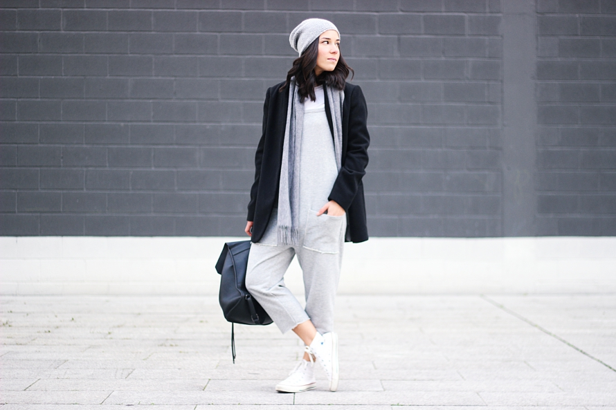 ZARA JUMPSUIT CONVERSE ALL STAR