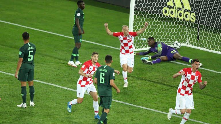 Hasil Pertandingan Kroasia Vs Nigeria Piala Dunia