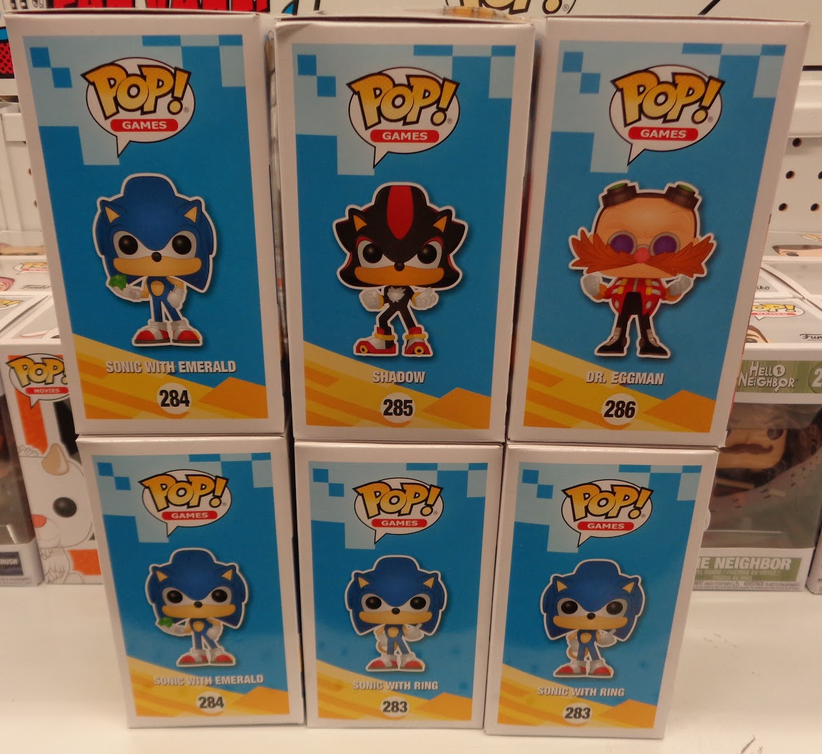 J And J Toys Funko Pop Sonic The Hedgehog
