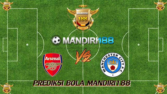 AGEN BOLA - Prediksi Arsenal vs Manchester City 2 Maret 2018