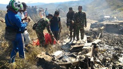 Pesawat Hercules C-130 TNI AU Jatuh, Berikut 5 Point yang Akan Diinvestigasi
