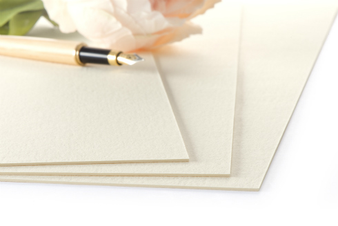 NEENAH 100% Cotton Paper Stationery