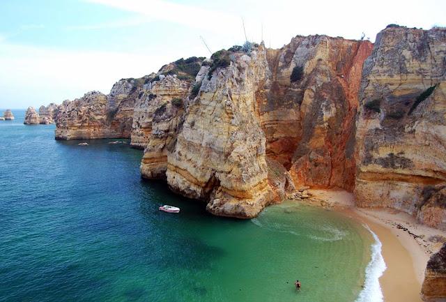 Praia Dona Ana – Portugal