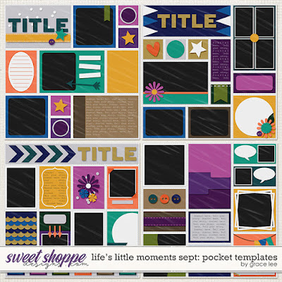 Life's Little Moments September: Pocket Templates