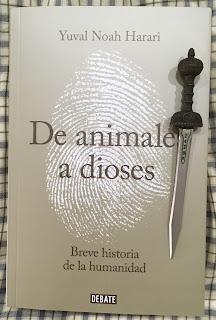 Portada del libro De animales a dioses, de Yuval Noah Harari