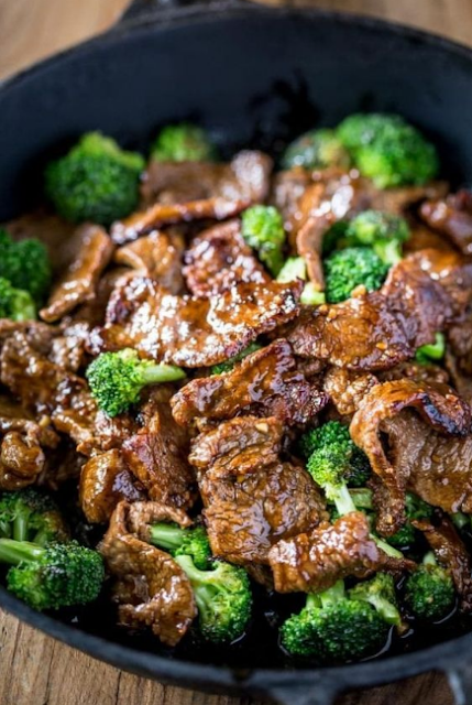Keto Low Carb Beef And Broccoli
