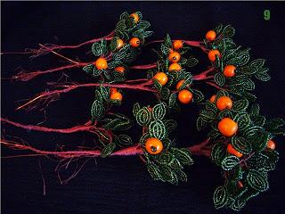 фото ветки с апельсинами