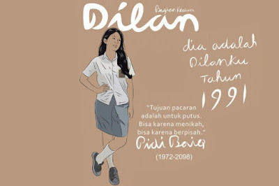 Download Novel Dilan 1991 by Pidi Baiq