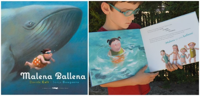 cuento aumentar autoestima infantil y burlas: malena ballena