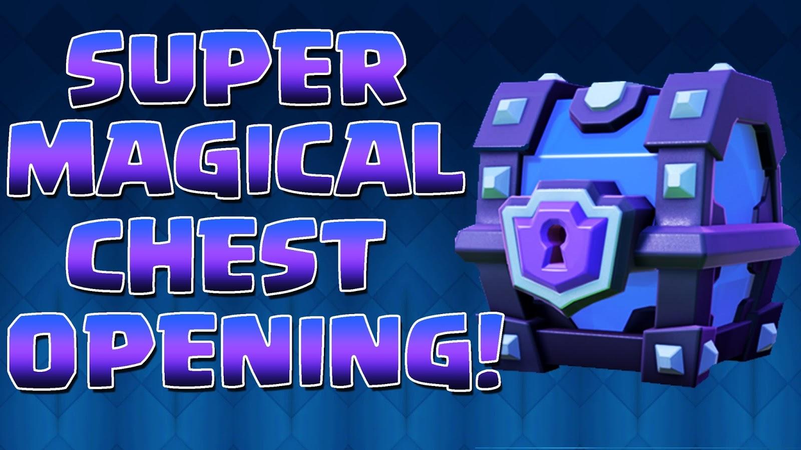 Rumah Tikus Cara Mendapatkan Super Magical Chest Clash Royale Gratis