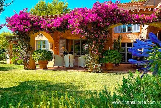 Casa de campo tradicional en Mallorca, España