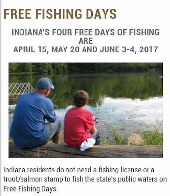 North judson wayne township public library 6 3 4 2017 for Best fishing days