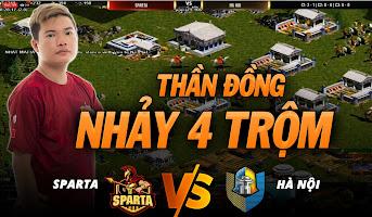 3vs3 Random | Sparta vs Hà Nội | ĐỈNH CAO NHẨY 4 TRỘM