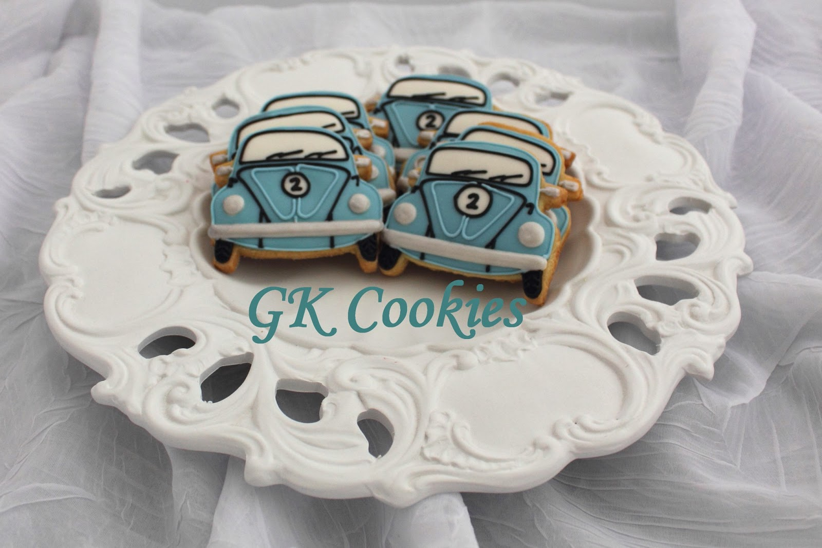 Cute VW Beetle cookies