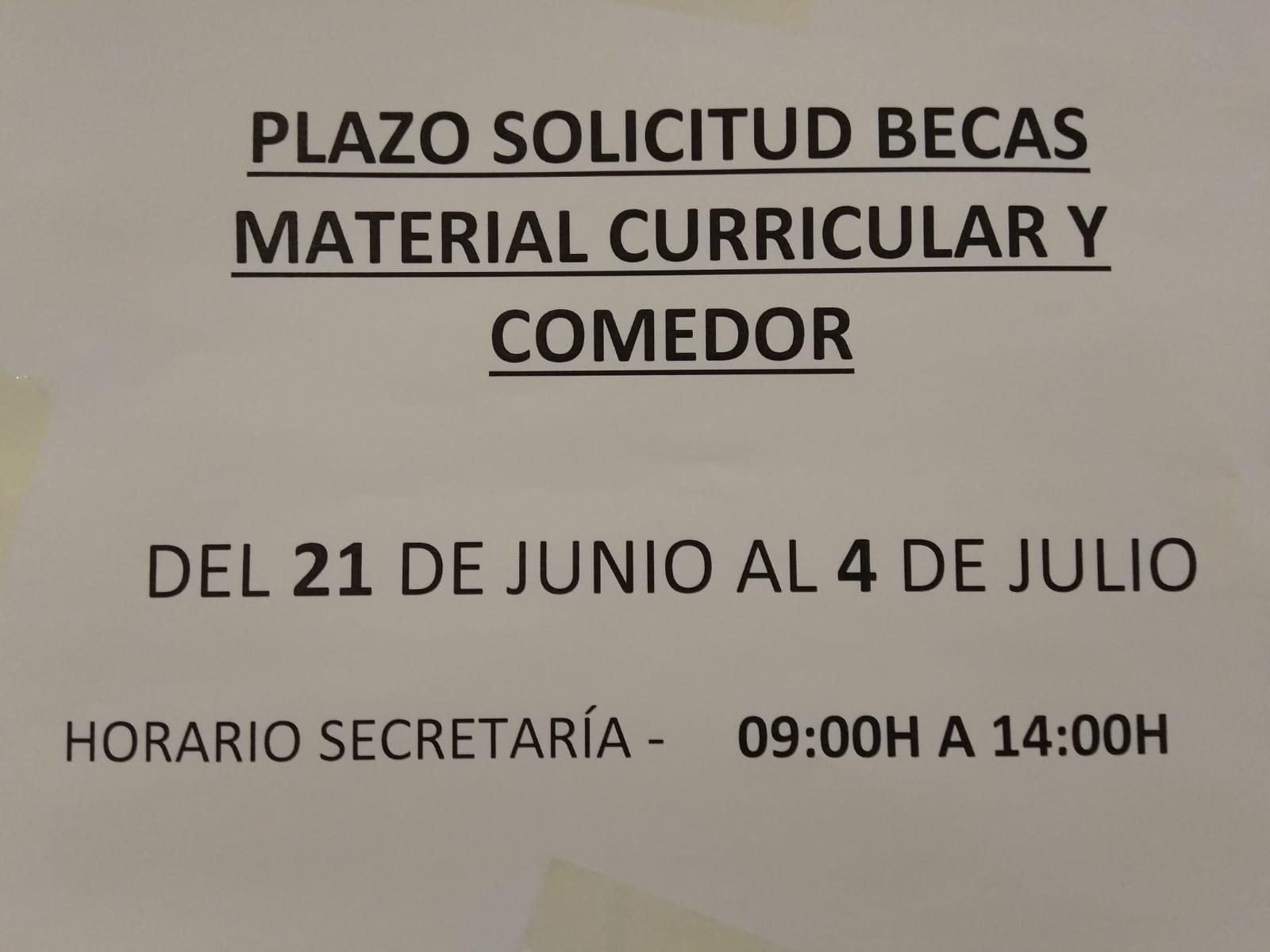 Becas Comedor Y Material Curricular Zaragoza – Solo otra idea de ...