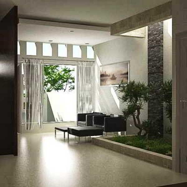 Taman Kolam Minimalis Dalam Rumah
