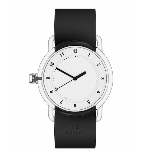 The black and white No.3 timepiece from TID.