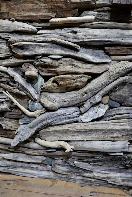 The Driftwood Wall