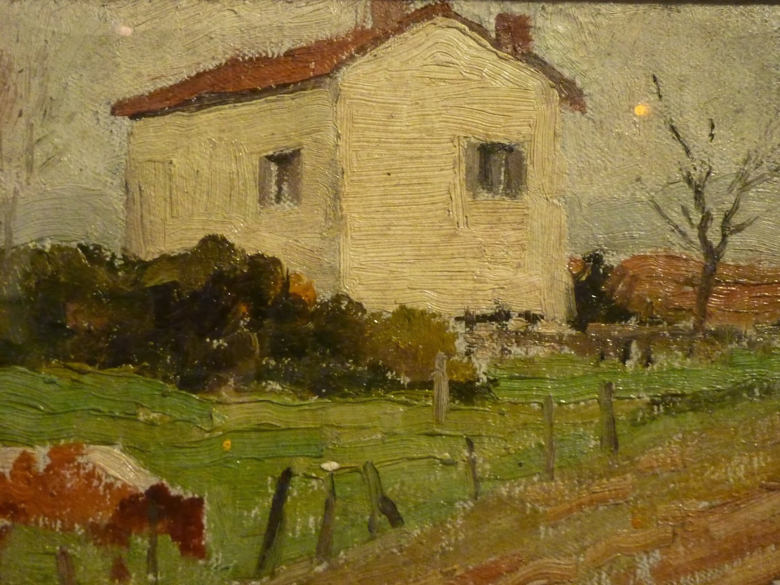 Adolphe  Valette  Home  at   lac C A