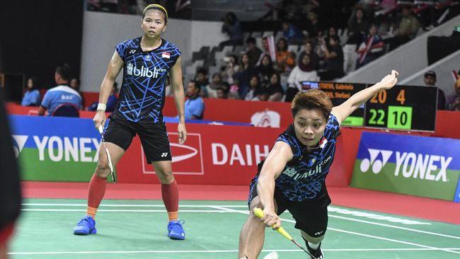 Pebulu Tangkis Putri Greysia Dan Apriyani Tersingkir Dari Indonesia Masters 2019