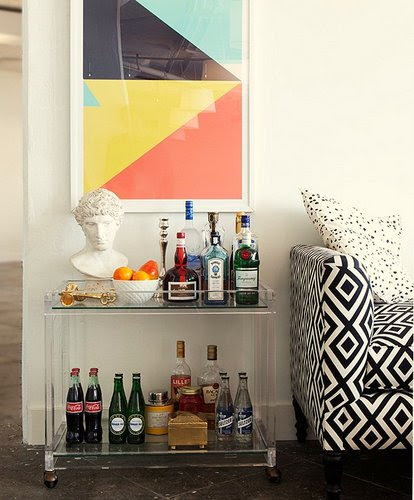Your Cheat Sheet for Staging the Bar Cart: