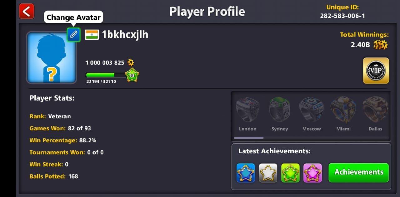 FREE 1 Billion Coins in 8 Ball Pool Hack 2019