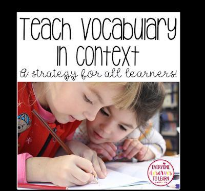 teach vocabulary in context