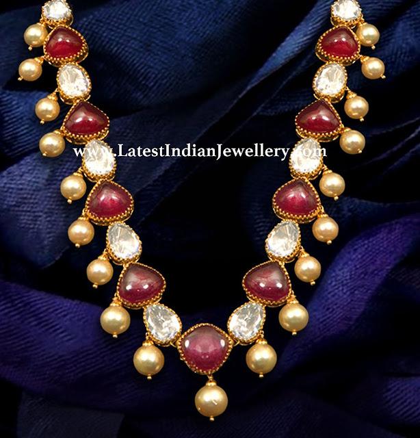 Polki and Burmese Necklace