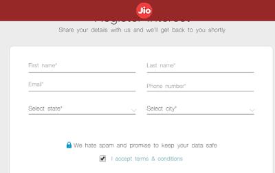 Buy Reliance Jio SIM Card